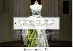 """""""Ricerche di Stile. Gli archivi Mazzini a Palazzo Tozzoni"""" fashion exhibition"""