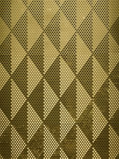 Brass Cemile by Giles Miller Studio Giles Miller Surface Design: Using Texture and Reflection as a Means of Illustration Wall Patterns, Color Patterns, Print Patterns, Motifs Textiles, Textile Patterns, Surface Pattern, Surface Design, Tile Design, Pattern Design