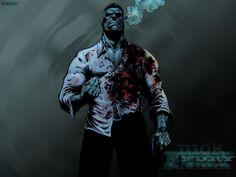Nick Fury wallpaper from Fury MAX v.1