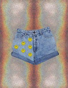 More Is De Moda Acid Smiley