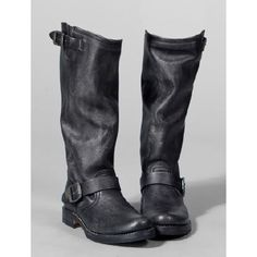 Just got these. Yeah! FRYE-Veronica-Slouch-in-Black