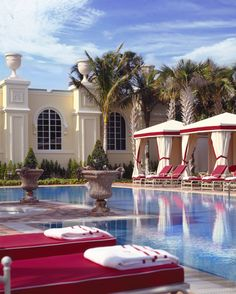 Our Adult Tranquility Pool at #Acqualina.
