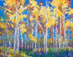 Last Stand - Alaska Birch and Aspen Tree stand; Fine Art Prints by Talya Johnson