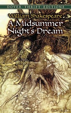 A Midsummer Night's Dream (Dover Thrift Editions) by William Shakespeare