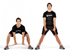resistance band deadlift - Google Search