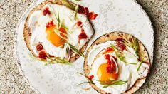 Fried Egg Tacos with Spicy Jam Recipe | Bon Appetit