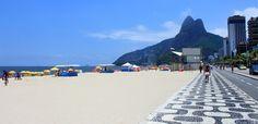 Calçadão da Praia de Ipanema (Rio de Janeiro)  Brasil
