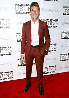 """Luis Ortiz: """"I like clothes that have a sense of taste, the qualities of a real gentleman. My clothes are sophisticated and not too flashy."""""""