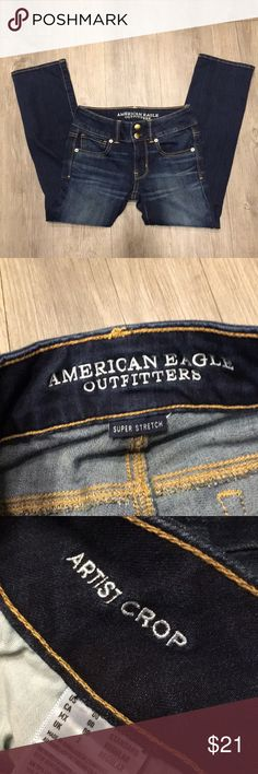 NWOT American Eagle Artist Crop Size 00 American Eagle. Style - Artist Crop American Eagle Outfitters Jeans