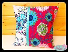 Pretty cushion tutorial - 1st part of the So Sew Simple projects for beginners, thanks so for share xox