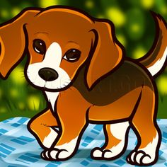 How To Draw A Beagle Puppy, Beagle Puppy, Step by Step, Drawing Guide, by Dawn | dragoart.com Beagle Art, Beagle Puppy, Puppy Drawing, Adoptable Beagle, Puppy Eyes, Dog Life, I Love Dogs, Best Dogs, Dogs And Puppies
