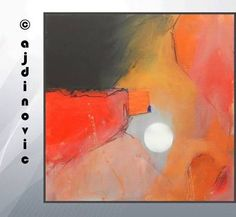 black and orange abstract art - Google Search