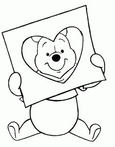 Disney Coloring Pages Valentines Day - Coloring pages allow kids to accompany t. Disney Coloring Pages Valentines Day – Coloring pages allow kids to accompany their favorite cha Heart Coloring Pages, Cute Coloring Pages, Disney Coloring Pages, Adult Coloring Pages, Coloring Books, Coloring Sheets, Kids Coloring, Colouring, Printable Valentines Coloring Pages