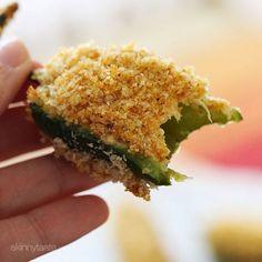 Baked Buffalo Chicken Jalapeño Poppers | Skinnytaste
