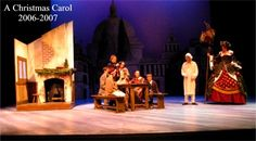 """Interesting set concept  Nice """"minimal"""" look for Cratchit's home interior"""