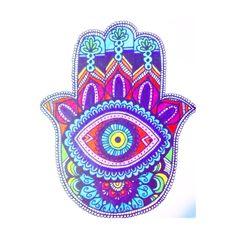 mano de fatima Hamsa Design, Mandalas Drawing, Mandala Art, Zentangles, Hamsa Art, Awareness Tattoo, Hamsa Jewelry, Indigo Children, Tarot Learning