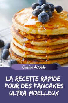 La recette facile et rapide pour des pancakes ultra moelleux ! Best Picture For Desserts verrine For Your Taste You are looking for something, and it is going to tell you exactly what you are looking Pancakes No Milk, Greek Yogurt Pancakes, Almond Flour Pancakes, Cinnamon Roll Pancakes, Low Carb Pancakes, Chocolate Chip Pancakes, Oatmeal Pancakes, Pancakes Easy, Fluffy Pancakes