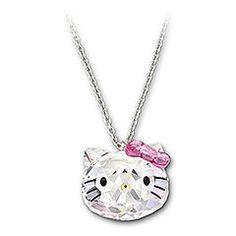 22b092e6b I found 'Hello Kitty Crystal Pendant' on Wish, check it out! Crystal  PendantCrystal JewelrySwarovski Crystal NecklaceSwarovski ...