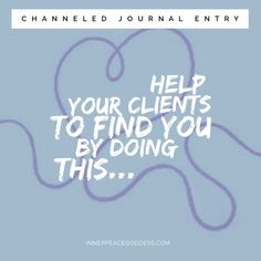 Help your clients to find you by doing this...