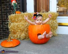 Hailey Pumpkin - 2012 Halloween Costume Contest