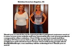 HCG Diet Drops Testimonials from Justin - South Bend, IN