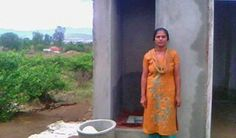 Mrs. Bhagya Shrinivas and her husband weren't sure about the benefits of a toilet until they decided to take a loan to build one.