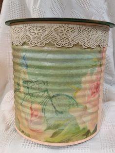 Jars, Canning, Bottle, Vintage, Home Decor, Recycled Tin Cans, Recycling, Home Decoration, Decoration Home