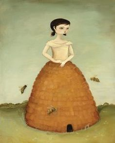I have this beehive girl print ~Valarie