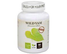 Wild Yam tablety Wild Yam, Yams, Coconut Oil