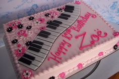 Piano And Pink
