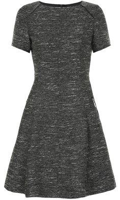 Matalan AW13 Fit Flare Grey Dress, £25