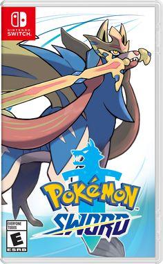Pokémon Sword for Nintendo Switch - Nintendo Game Details Wii U, Nintendo Switch System, Nintendo Switch Games, Nintendo 3ds, Nouveau Pokemon, Arcade, Strongest Pokemon, Playstation, Video Game