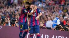 #Neymar and #Messi  Forca Barca !!