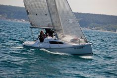 Charter sailing yacht Elan 210, 1 cabins, 2+2 berths, Available for charter in Croatia and Slovenia.