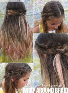 Wrap-Around Braids, Twisted Ponys, And More Hair Tutorials From Our Birchbloggers! | Birchbox
