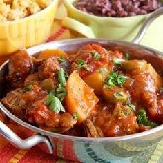 Spanischer Rindfleisch Eintopf aus dem Slow Cooker @ de.allrecipes.com