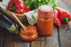 Ajvar (paprika-aubergine puree) - Betty's Kitchen