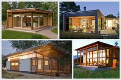 Small House Kits are designed so that every bit of space is used to the best advantage. Although some are for homes as large as 875 square feet, others are well under 300 square feet. Those designed to be on wheels may be less than 100 square feet. These houses are more energy efficient than a small old house, thanks to superior materials and increased insulation.