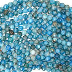 Mini Size // 8-10 mm Blue 30 Piece Center Drilled Sea Glass Beads// Beach Glass Beads For Jewelry Making