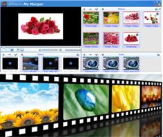 A powerful video production software, is certainly not limited to add photos, music and other elements, this software can also insert video function, we can according to their own preferences, usually taken online or download video can be inserted, as video titles, but also can be directly inserted into the photo, interactive shows perfect photos and video. You can download AllPepole video merger at Appstore: https://itunes.apple.com/us/app/my-merger-pro/id940336802?mt=12