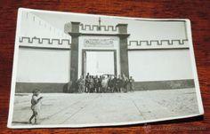 FOTOGRAFIA DE CABO JUBY, SAHARA ESPAÑOL, CAMPAMENTO OFICIALES ESPAÑOLES, AÑO 1932, MIDE 11 X 8 CMS. - Foto 1