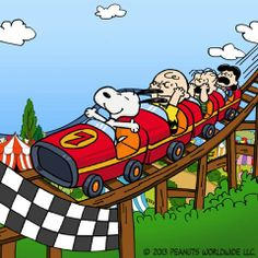 Snoopy Rollercoaster