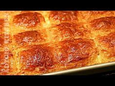 Placinta turceasca cu lapte si branza / Placinta rapida si simpla care se topeste in gura! - YouTube Turkish Recipes, Ethnic Recipes, Romanian Food, Banana Bread, Cake Recipes, Steak, Bacon, Bakery, Deserts