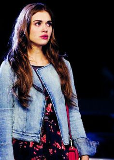 And of course - teen wolf kick remember? - who better to be SMC Dylan's love interest, Violet, than Stiles's love interest, Lydia.