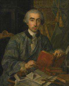 Portrait of a gentleman, 18th century by Claude Arnulphy (1697-1786)
