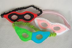 ikat bag: Dress-up Box: Masks