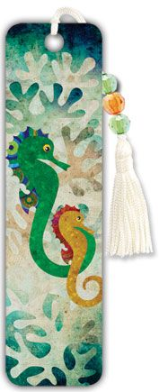 Seahorses - Beaded Bookmark Beaded Bookmarks, My Bookmarks, Book Markers, Art Sketches, Book Worms, Art For Kids, Birthday Cards, Bookmark Ideas, Projects To Try