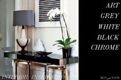 CURRENT INTERIOR INSPIRATIONS ~ MISS GOOD TASTE