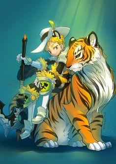 Manga Illustrations by Ziyo Ling