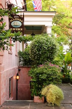 The Olde Pink House is a beloved restaurant in Savannah, but did you know the downstairs tavern is considered haunted? Click here to learn about the most haunted places in Savannah, Georgia.   savannahfirsttimer.com #savannah #haunted #savannahftg